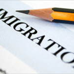 A picture of an immigration form used by an immigration attorney in NYC